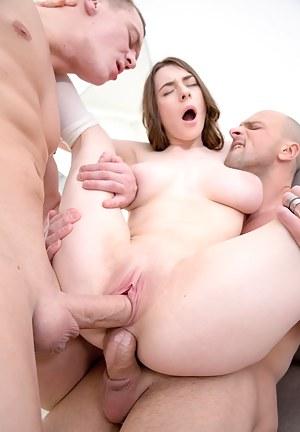Big Tits Double Penetration Porn Pictures